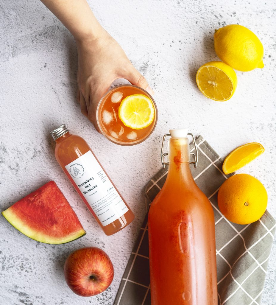 Antidote kombucha blend with fruits