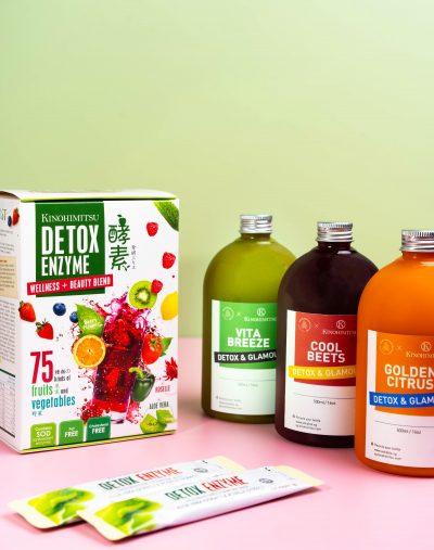 Detox & Glamour Juice Pack